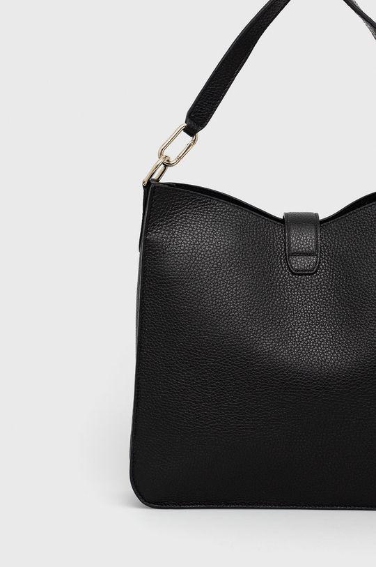 černá Furla - Kožená kabelka