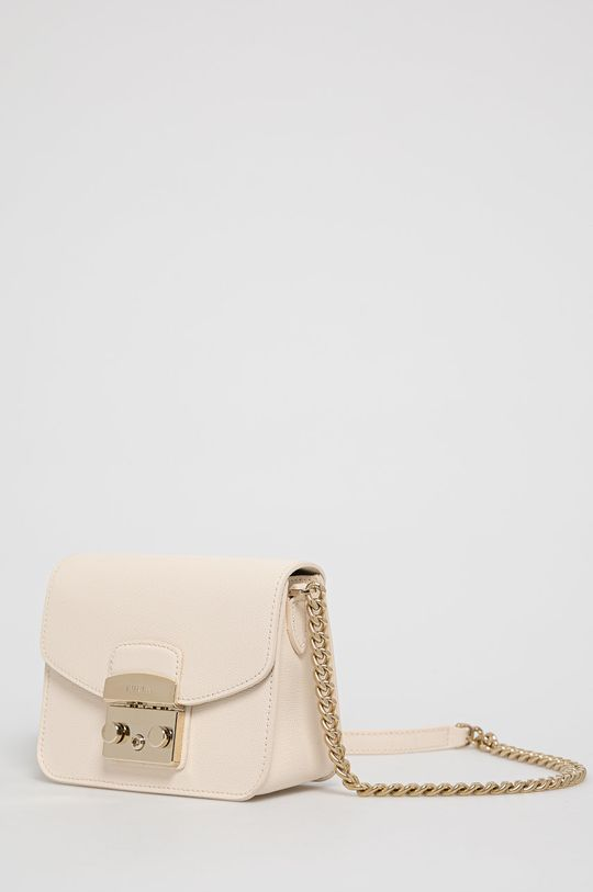 Furla - Kožená kabelka Metropolis Mini  Vnitřek: 100% Polyester Hlavní materiál: Přírodní kůže