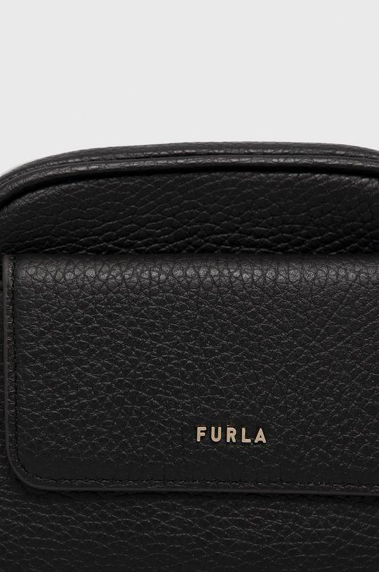 černá Furla - Kožená ledvinka
