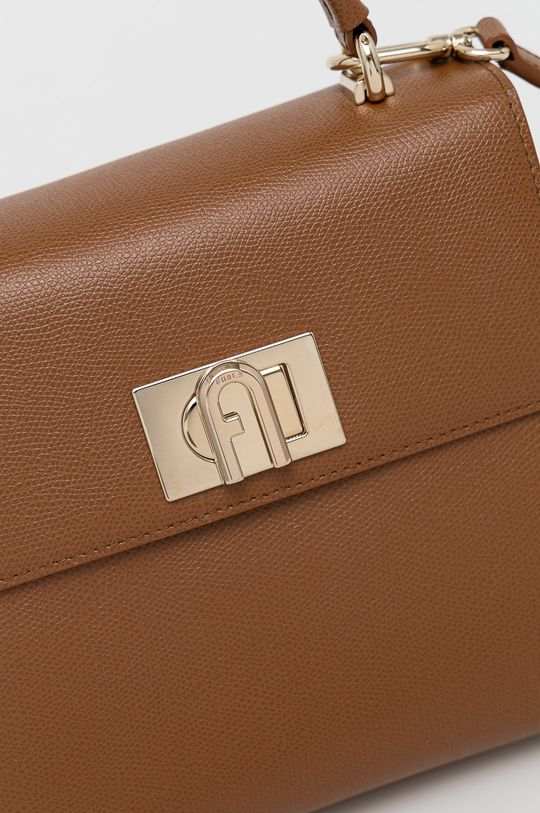 Furla - Kožená kabelka 1927 zlatohnědá