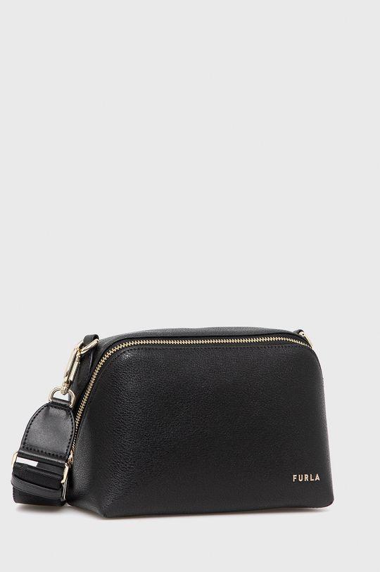 Furla - Kožená kabelka Amica S  100% Prírodná koža