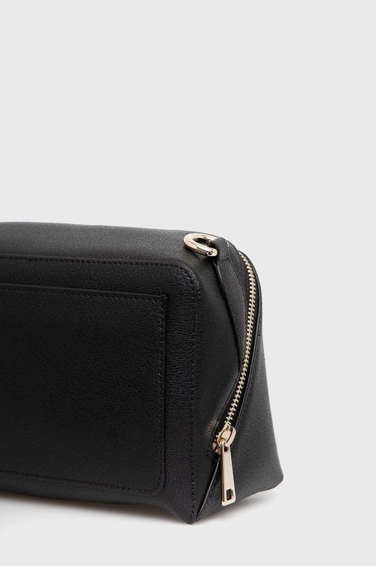 čierna Furla - Kožená kabelka Amica S