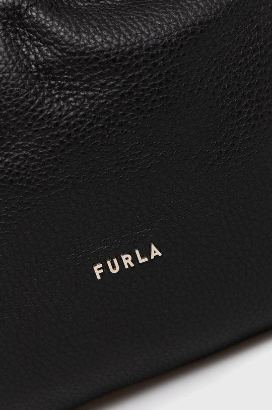 Furla - Torebka skórzana Essential czarny