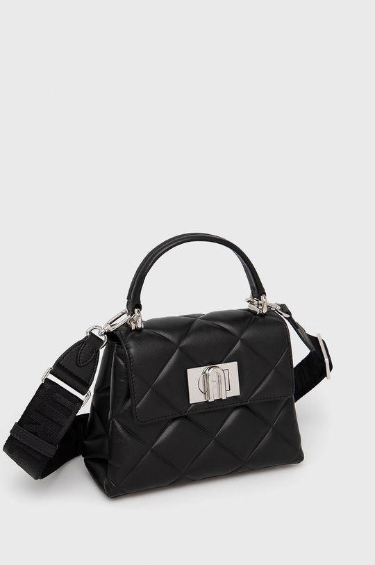 Furla - Kožená kabelka 1927  Vnitřek: 100% Polyester Hlavní materiál: 20% Polyester, 80% Přírodní kůže