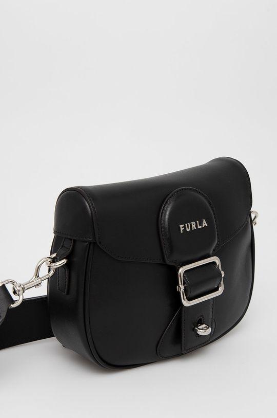 Furla - Kožená kabelka Amazzone  Vnitřek: 65% Polyamid, 35% Polyuretan Hlavní materiál: 100% Přírodní kůže