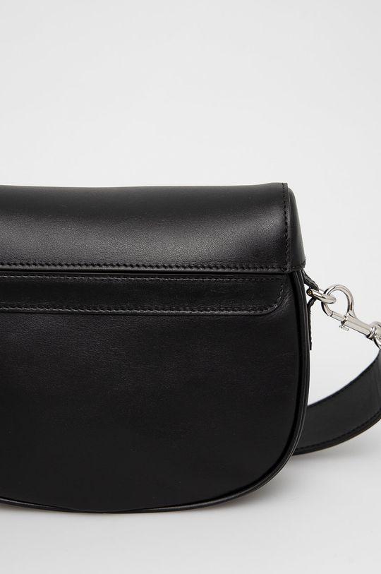 černá Furla - Kožená kabelka Amazzone