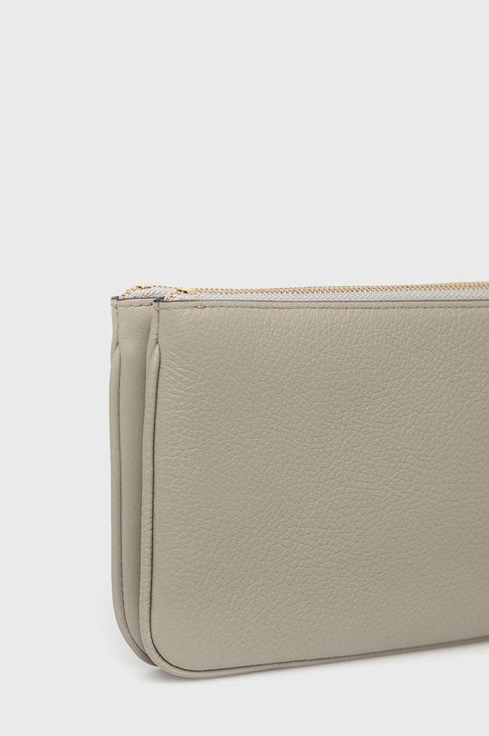 svetlosivá Furla - Kožená kabelka Miastella