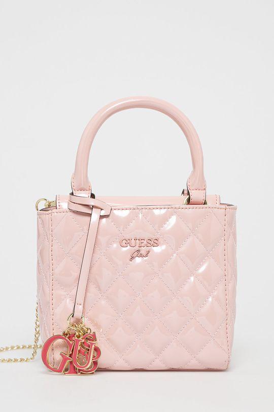 růžová Guess - Dětská kabelka Dívčí