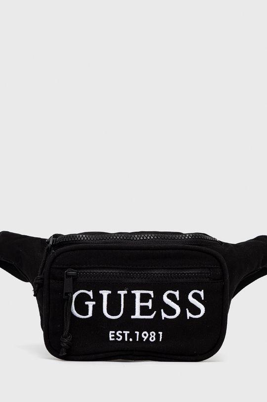 czarny Guess - Nerka Męski