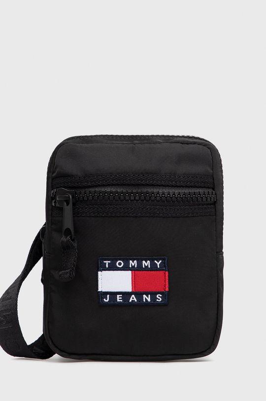 czarny Tommy Jeans - Saszetka Męski