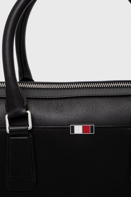 černá Tommy Hilfiger - Kožená taška