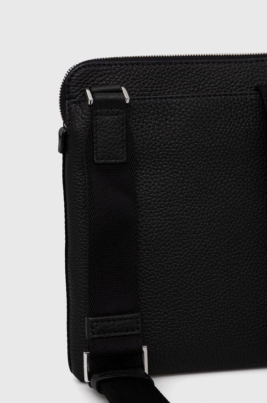Boss - Kožená taška  Základná látka: 100% Hovädzia koža