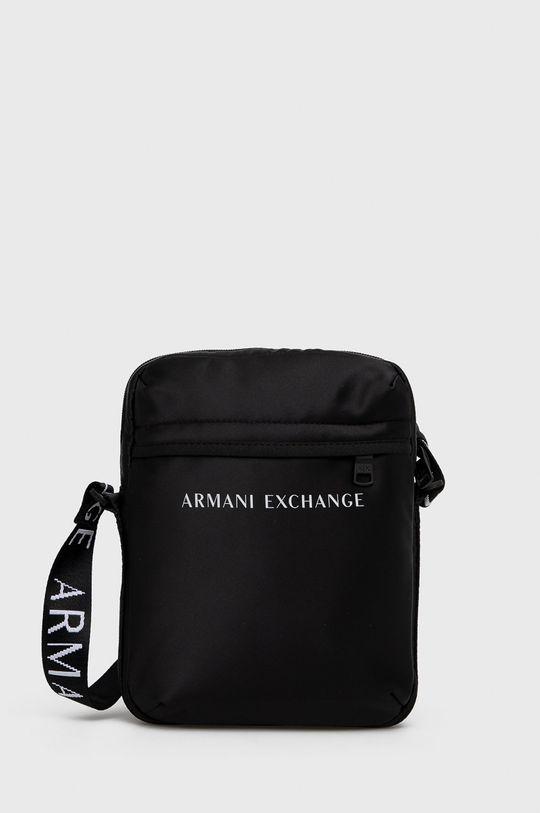 czarny Armani Exchange - Saszetka Męski