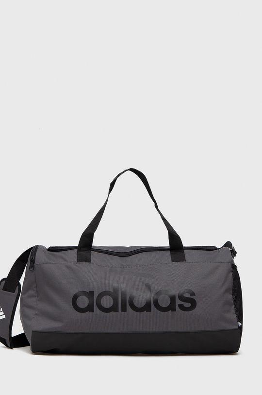 šedá adidas - Sportovní taška Pánský