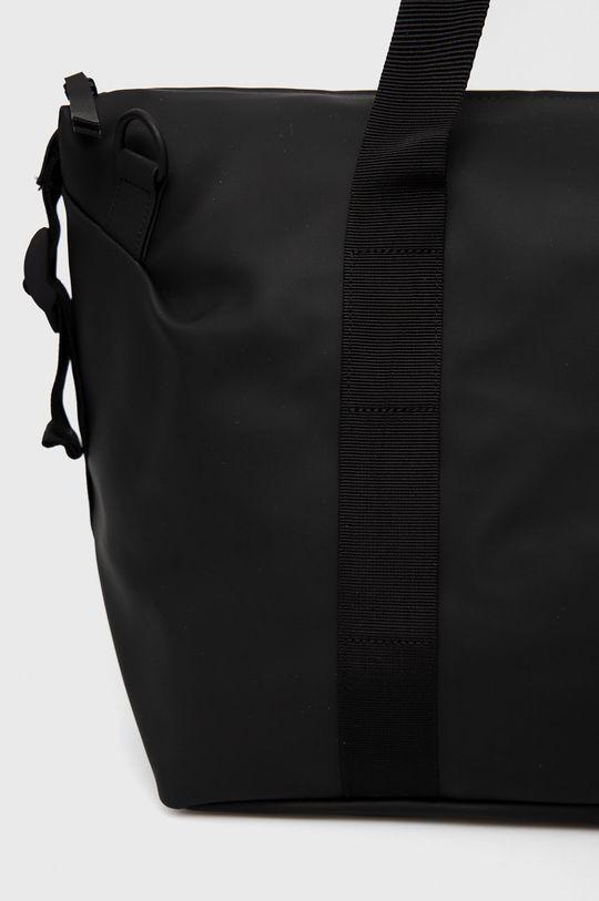 czarny Rains - Torba 1319 Weekend Bag Small