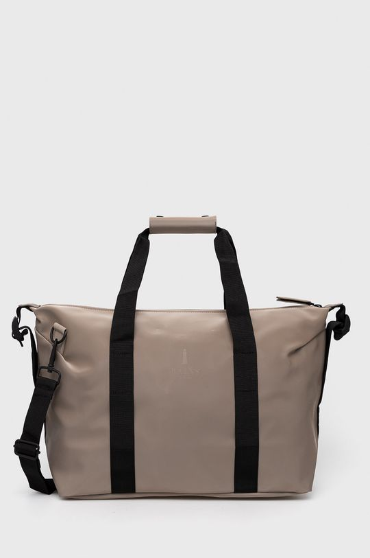 piaskowy Rains - Torba 1319 Weekend Bag Small Unisex