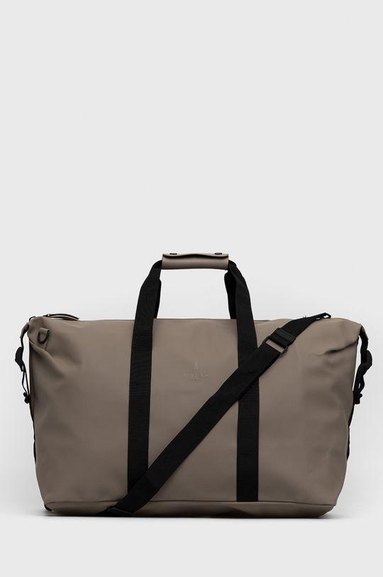 piaskowy Rains - Torba 1320 Weekend Bag Unisex