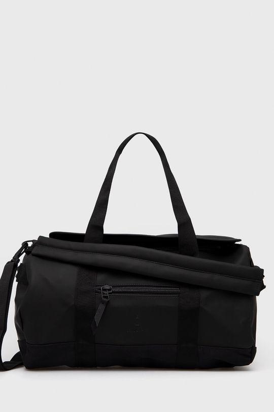czarny Rains - Torba 1353 Duffel Bag Small Unisex