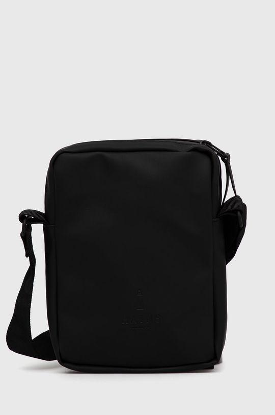 czarny Rains - Saszetka 1356 Jet Bag Unisex