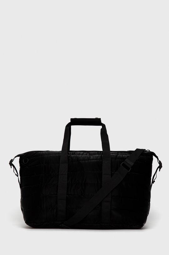 czarny Rains - Torba 1378 Weekend Bag Quilted Unisex