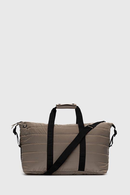 brązowy Rains - Torba 1378 Weekend Bag Quilted Unisex