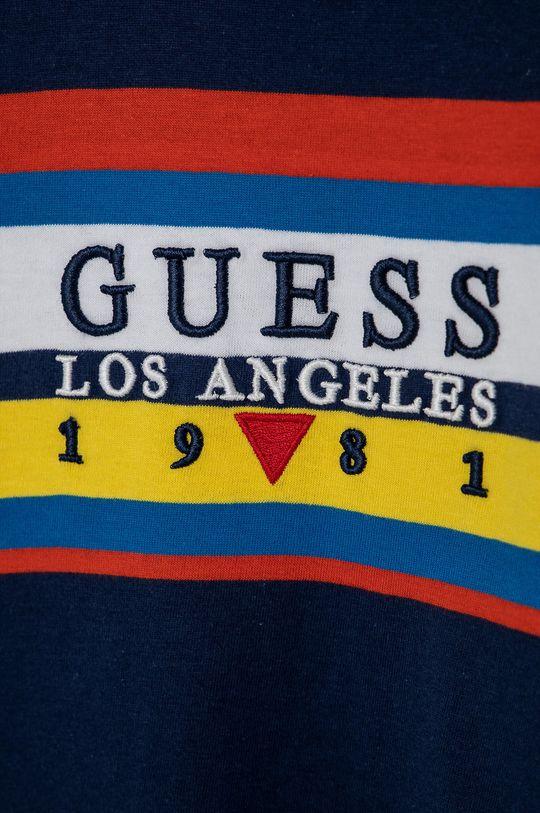 Guess - T-shirt bawełniany dziecięcy 100 % Bawełna organiczna