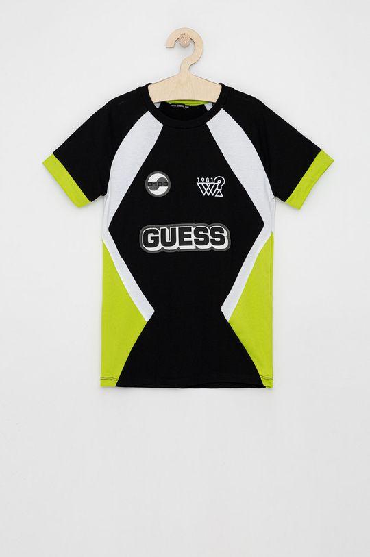 černá Guess - Dětské tričko Chlapecký
