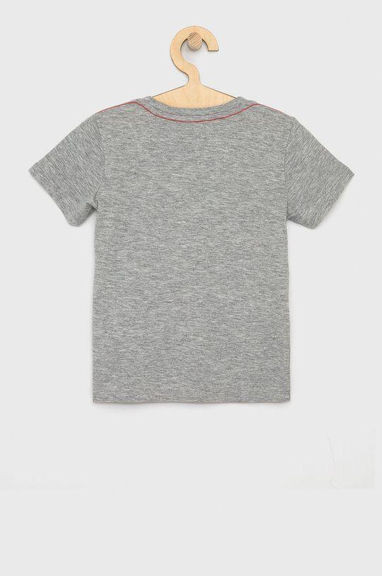 Guess - T-shirt dziecięcy jasny szary