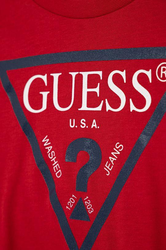 Guess - Dětské tričko červená
