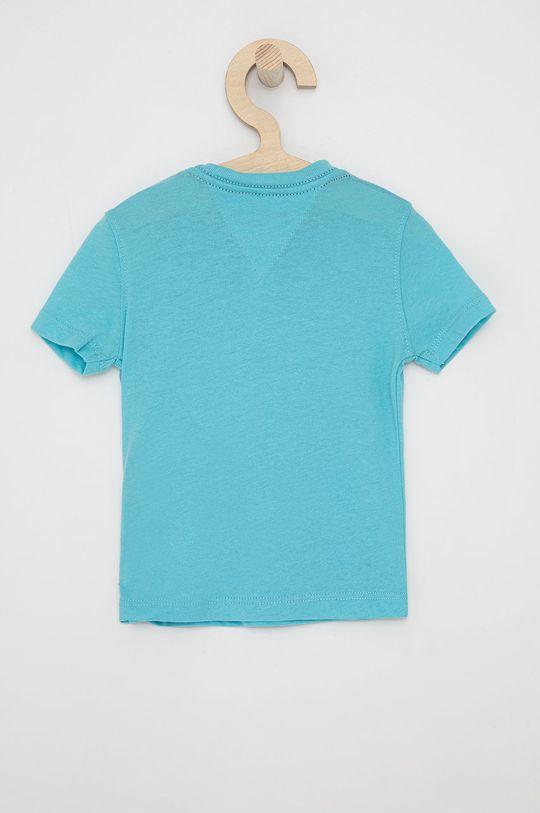 Tommy Hilfiger - T-shirt dziecięcy morski