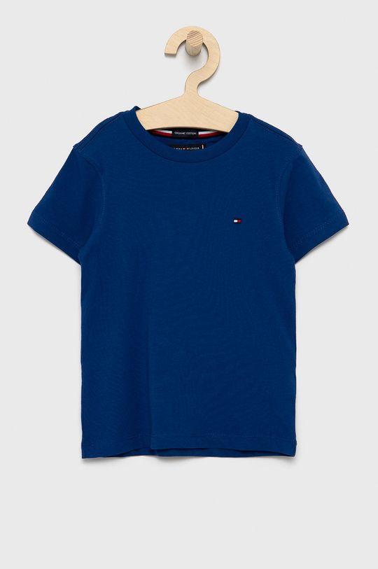 granatowy Tommy Hilfiger - T-shirt dziecięcy Chłopięcy