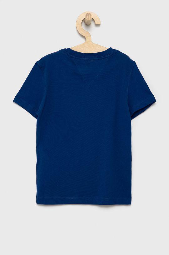 Tommy Hilfiger - T-shirt dziecięcy granatowy