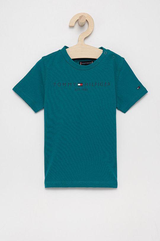 cyraneczka Tommy Hilfiger - T-shirt bawełniany dziecięcy Chłopięcy