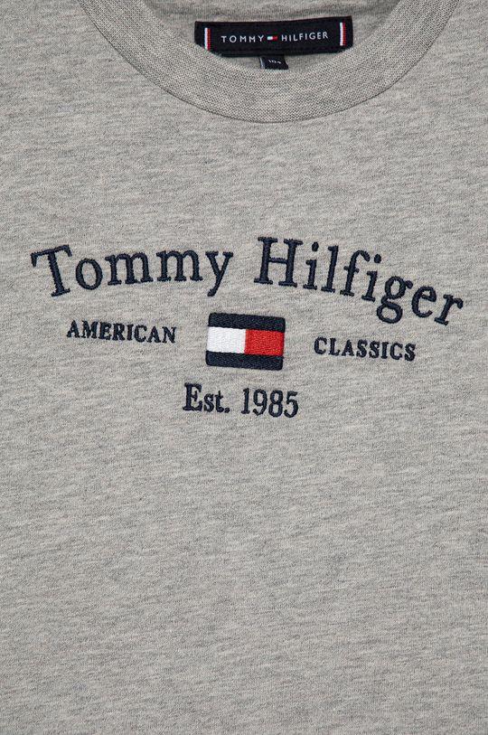 Tommy Hilfiger - T-shirt bawełniany dziecięcy 100 % Bawełna organiczna