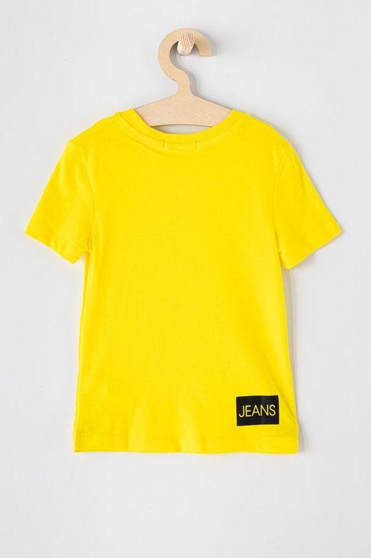 Calvin Klein Jeans - Dětské tričko 104-176 cm žlutá