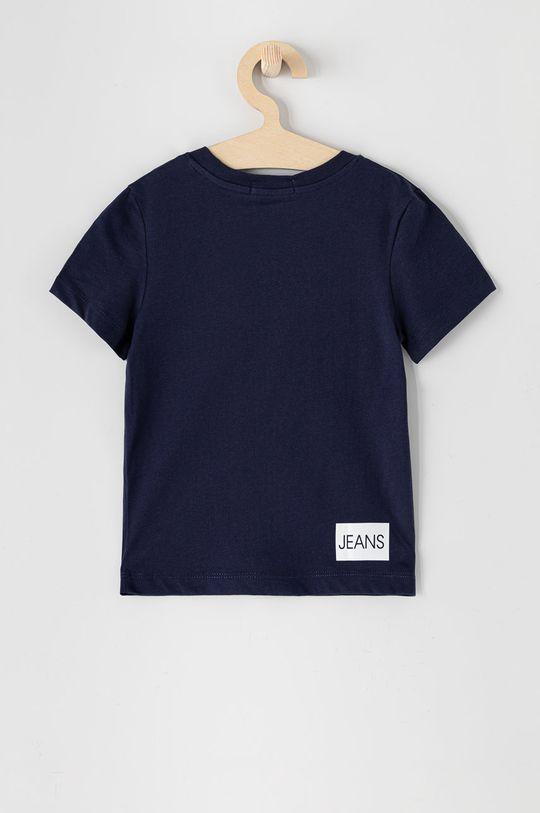 Calvin Klein Jeans - T-shirt dziecięcy 104-176 cm granatowy
