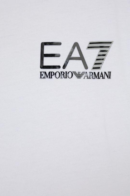 EA7 Emporio Armani - T-shirt bawełniany dziecięcy 100 % Bawełna