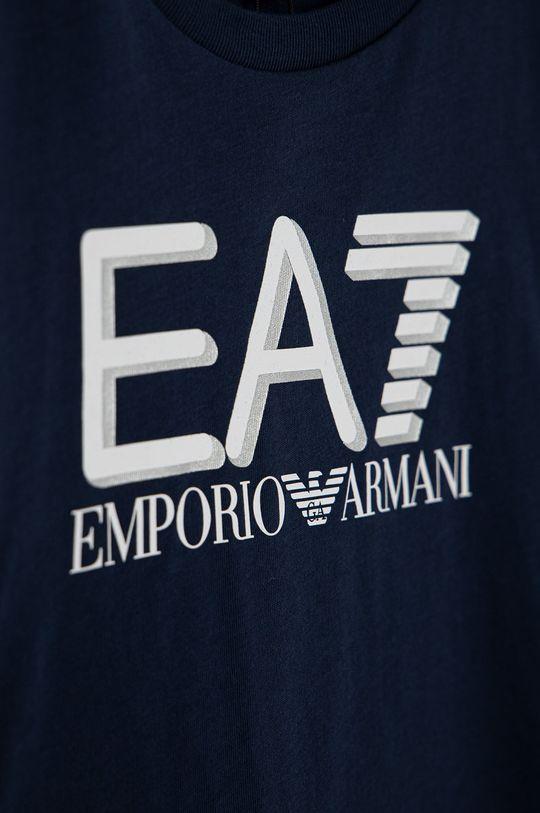 EA7 Emporio Armani - Longsleeve dziecięcy 100 % Bawełna