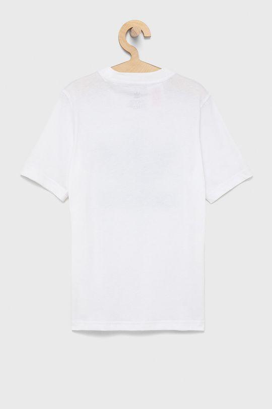 Adidas Originals - T-shirt bawełniany dziecięcy biały