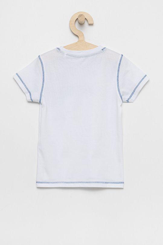 Guess - Detské bavlnené tričko biela