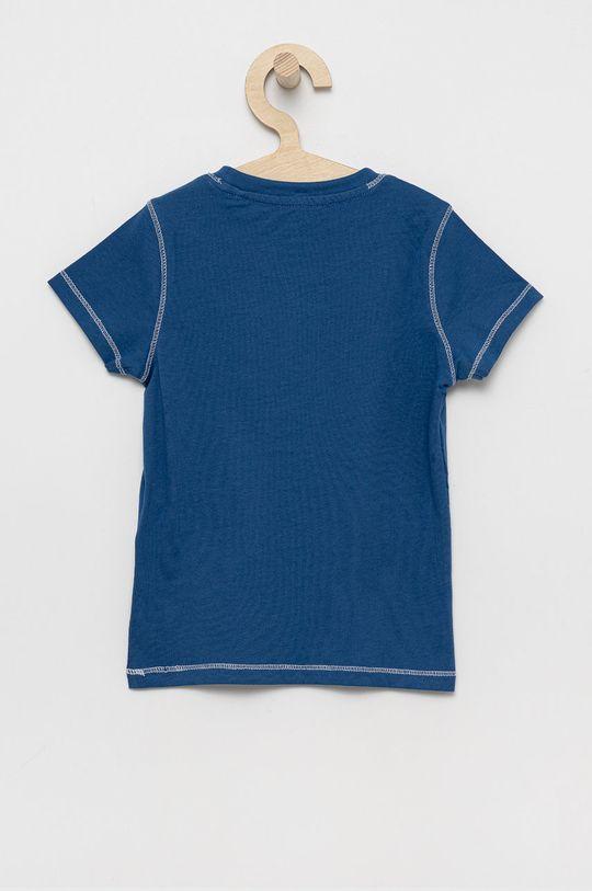 Guess - Detské bavlnené tričko modrá