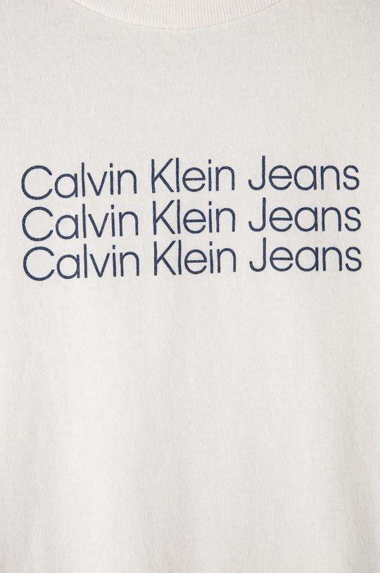 Calvin Klein Jeans - T-shirt dziecięcy 100 % Bawełna