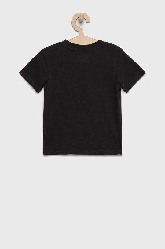 Polo Ralph Lauren - T-shirt bawełniany dziecięcy czarny