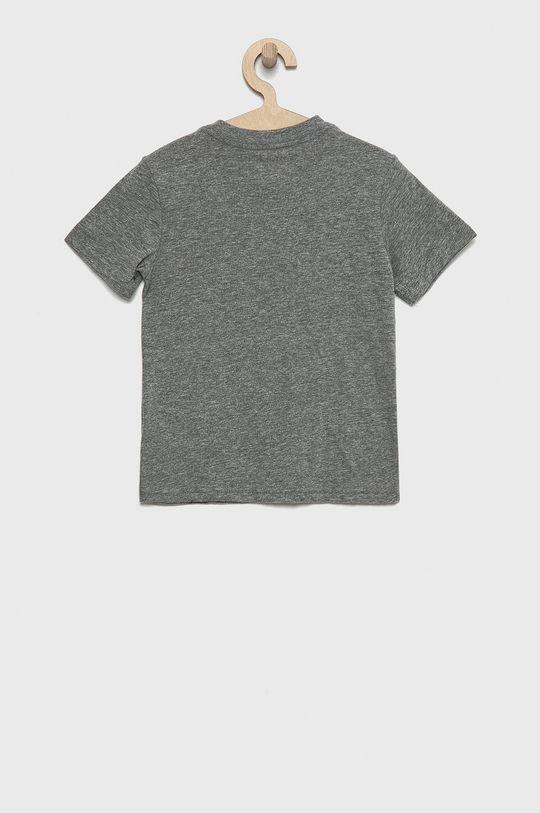 Polo Ralph Lauren - T-shirt bawełniany dziecięcy szary