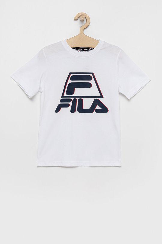 biela Fila - Detské bavlnené tričko Chlapčenský