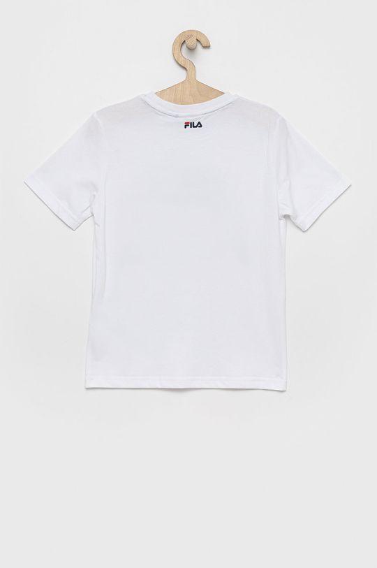 Fila - Detské bavlnené tričko biela