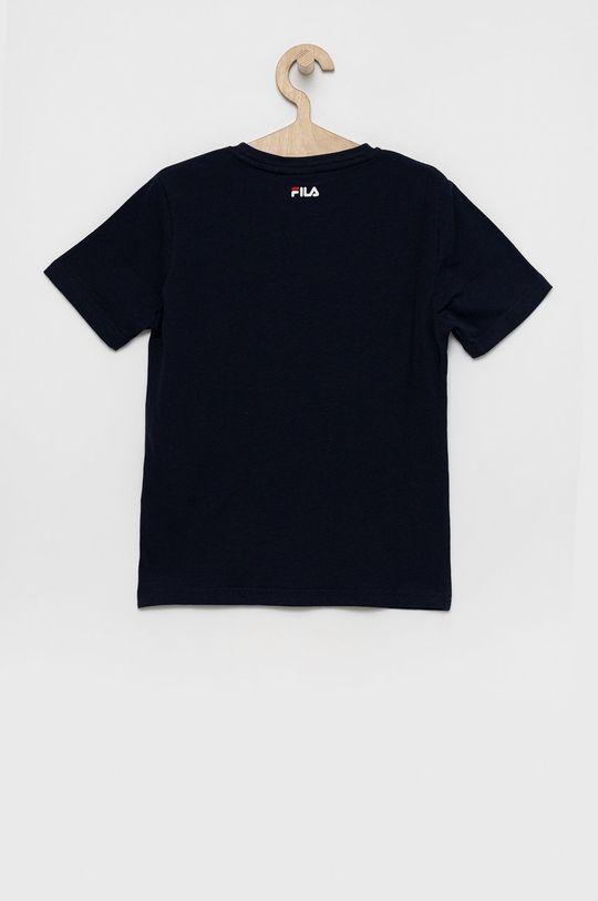 Fila - Tricou de bumbac pentru copii bleumarin