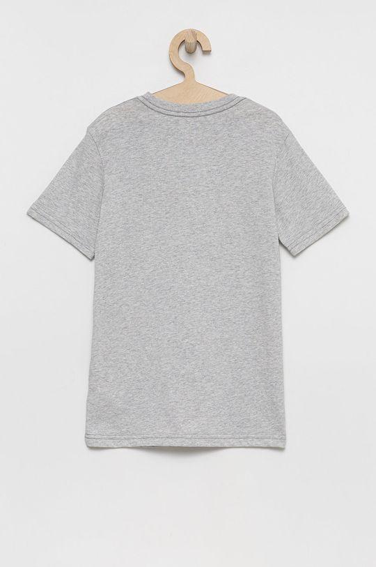 Quiksilver - T-shirt bawełniany dziecięcy szary