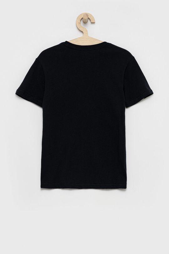 Quiksilver - T-shirt bawełniany dziecięcy czarny