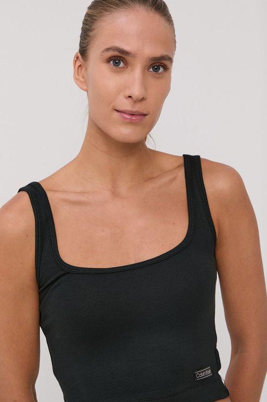 Calvin Klein Underwear - Top piżamowy czarny